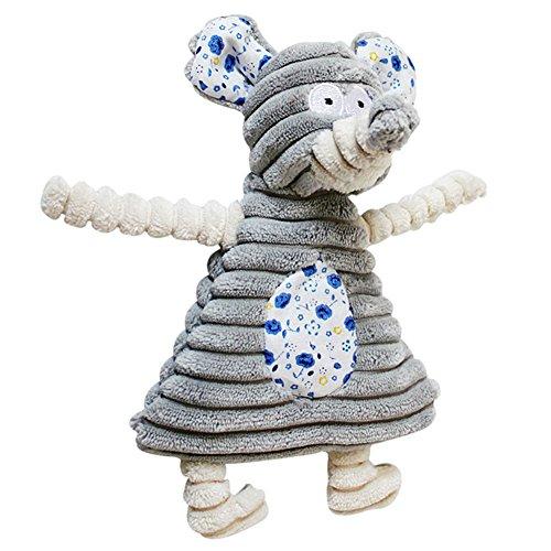 Cool Ring Hunde Plüschspielzeug Pet Toy Hundespielzeug Pet Puppy Spielzeug (Elefant)