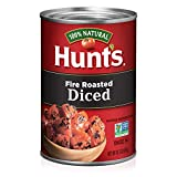 Hunt's Fire Roasted Diced Tomatoes, Keto Friendly, 14.5 oz