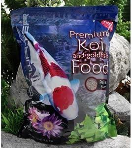 Pro Ponds Blackwater Premium Maximum Growth Koi Fish Food - 40 lbs. (Medium Pellet)
