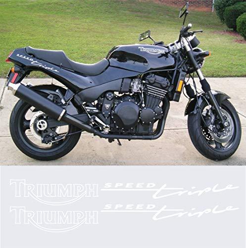 Aufkleber stickers TRIUMPH SPEED TRIPLE -JAHR 1994- moto decal bike-Motorrad- Cod. 0640 (Bianco cod. 010)