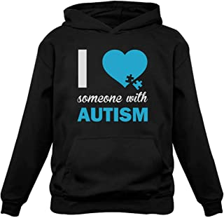 Autism Awareness - I Love Someone with Autism Women Hoodie