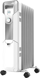Cecotec Radiador Eléctrico de aceite 360º Ready Warm 5600 Space White. 7 Módulos, Bajo Consumo, 1500 W, 3 Niveles de Poten...