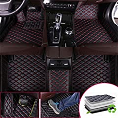 【Customized design】This product is a customized product.Only applicable for BMW 1Series Coupe E82 120i 2011 left-hand drive. Please check the car model and year carefully before buying, thank you. 【Material】Made of excellent XPE leather material, wit...