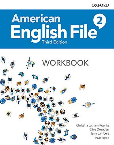 American English File 2 Workbook - 03Edition