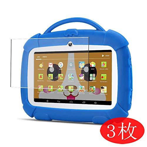 "VacFun 3 Piezas HD Claro Protector de Pantalla para Qimaoo Kids 7\"" Tablet, Screen Protector Sin Burbujas Película Protectora (Not Cristal Templado)"