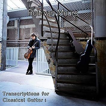 Transcriptions for Classical Guitar I