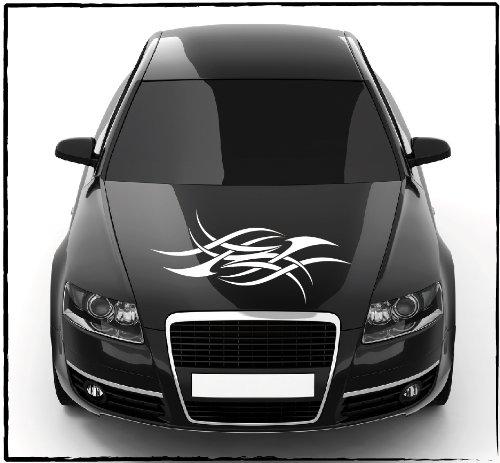 DD Dotzler Design - 2405_45 - Aufkleber für Motorhaube oder Heckscheibe ca 66 x 30 cm - Autodekor Autoaufkleber Car Tattoo Aufkleber Auto Car Tribal