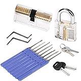 2 Locks Professional 10 PCS Set Training Kit