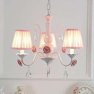 European Style Rural Retro Pendant Light Garden Luxury Villa Living Room Dining Room Crystal Pendant Lights Clothing Shop Lamps Lights & Lighting Ceiling Lights & Fans