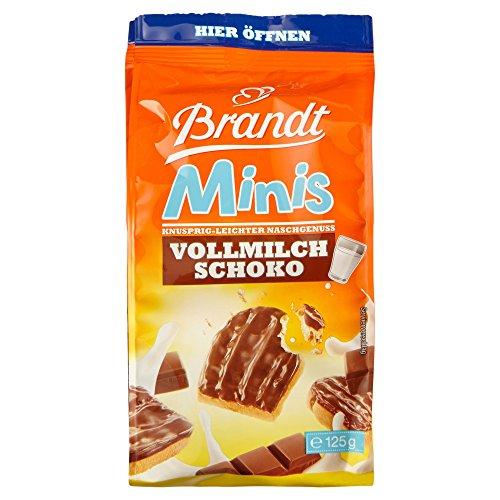 Brandt Mini Zwieback mit Vollmilchschoko, 125 g