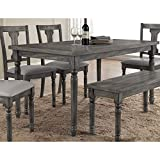 Best Master Furniture Grey Wood and...