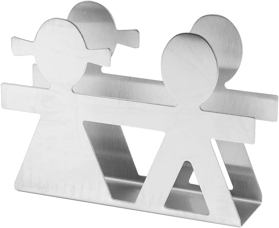 Napkin Holder for Table Dispense Max 71% OFF Steel Easy-to-use Stainless Storage