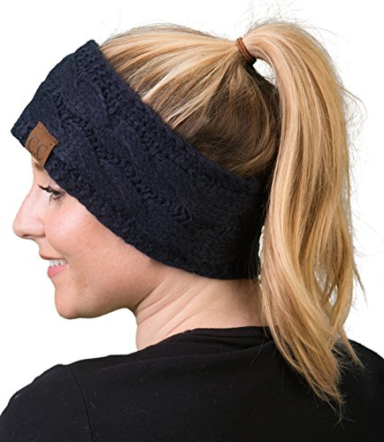 HW-6033-20a-31 Headwrap -Solid Navy