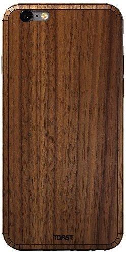 【日本正規代理店品】 TOAST PLAIN COVER for iPhone 6 Plus/6s Plus WALNUT 木製 カバー ウォルナット くるみ IPH6P-PLA-01