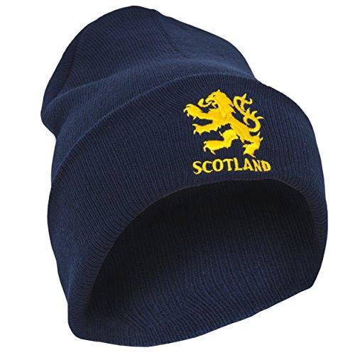 Scotland Bonnet Homme (Taille Unique) (Bleu Marine)