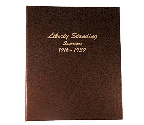 Dansco US Liberty Standing Quarters Coin Album 1916 – 1930 #7132
