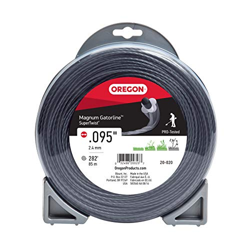 Oregon 20-020 Magnum Gatorline Supertwist Trimmer Line .095-Inch by 282-Foot
