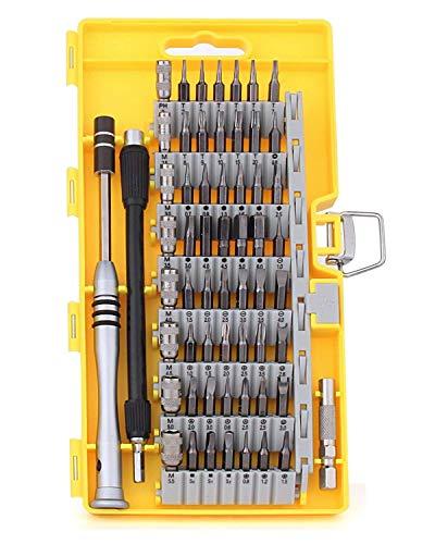 Preisvergleich Produktbild Ctbd Magnetische Schraubendreher Set,  60 in 1 Precision Elektronik Repair Tool Kits für PC,  Handys,  Brillen,  iPhone,  Samsung,  Laptop,  Computer,  MacBook,  Kamera,  Uhr,  Elektronik DIY Modelle