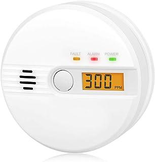 Kohlenmonoxid Warnmelder LCD Anzeige CO Melder 85Db Alarm Kohlenmonoxidsensor..