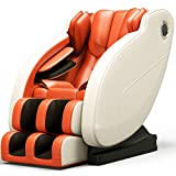 TXYJ Sillón de Masaje - Sillón shiatsu de relajación Profesional, sillón de Masaje Shiatsu de Cuerpo Completo de Gravedad Cero con calefacción Bluetooth y masajeador de Rodillos para pies