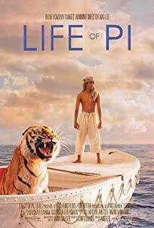 Life of Pi And Lee Original Double Sided 27x40 Movie Poster 2012