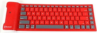 JIADIAN Faltbare Tastatur  tragbar  wasserdicht  weiche Silikon-Tastatur  kabellos  Faltbare Silikon-Tastatur