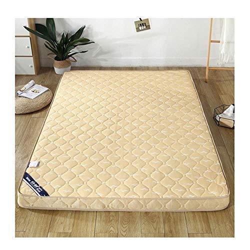 GJP Colchón de Tatami colchón de Tatami japonés colchón de Suelo Plegable de Tatami colchón de futón Grueso y Suave colchón Doble Individual para Sala de Estar 10 cm 180x200 cm / 71x79 pul