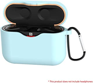 JannahMehr Portable Soft Silicone Protective Case Cover for WF-1000XM6 Earphone Charge Box, Scratch-Proof, Dust Proof, Shockproof