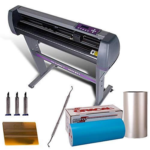 USCutter Paint Mask Stencil KIT (Oracal Oramask 813 Film, MH Vinyl Cutter, Transfer Tape, Tools)