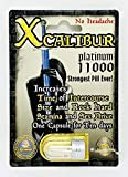 X Calibur Platinum 11000 6ct - 6 Pills XCalibur Platinum 11000