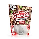 Prozis Oatmeal con Whey Protein 1000g - Cereales Repletos de Hidratos de Carbono de Alta Calidad y Fibras Saciantes -Sabor NutChoc -Apto para Vegetarianos - Cardiosaludable -12 Dosis