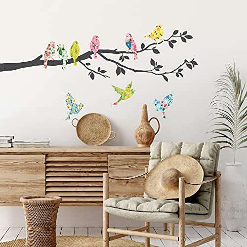 Decowall Stickers Removable Nursery Bedroom