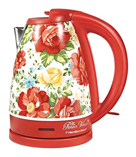 The Pioneer Woman Vintage Floral 1.7L Electric Kettle Model 40972 by Hamilton Beach