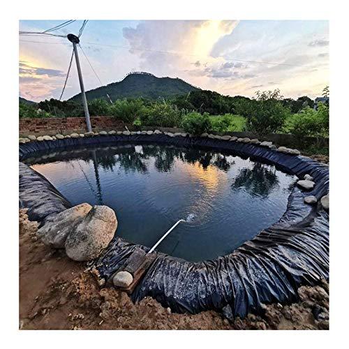 F-XW Teichfolie, Strapazierfähige Teichfolien, Schutz für Fischteiche, Bachläufe, Springbrunnen und Wassergarten, 2 x 5 m, 2.5 x 3 m, 3 x 5 m, 4 x 6 m, 5 x 5 m, 7 x 7 m, 8 x 9 m