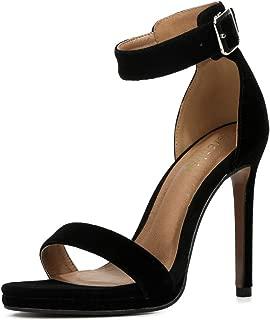 fereshte Women's Ankle Strap Stiletto High Heels Dress Sandals