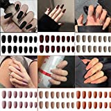 Best Press On Nails - 6 Packs (144 Pcs) Matte Coffin Press on Review