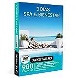 DAKOTABOX - Caja Regalo mujer hombre pareja idea de regalo - 3 días spa & bienestar - 900 estancias en hoteles de hasta 4*, balnearios, resorts y mucho más
