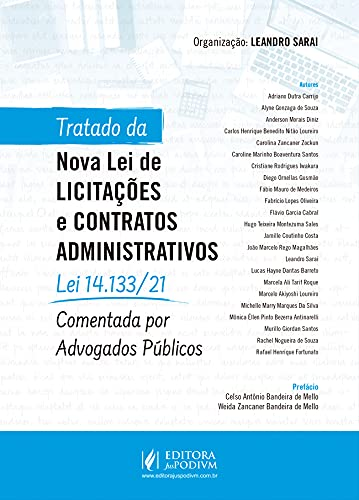 Tratado da Nova Lei de Licitações e Contratos Administrativos