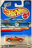 Hot Wheels 1997 Sugar Rush Series Mazda MX-5 Miata Convertible 1/4 (Reese's Peanut Butter Cups Graphics)