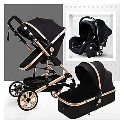 Cochecito de bebé, caminata para niños pequeños 3 en 1, sillas de sillas y cochecitos, cochecito recién nacido Baby shotchair alta paisaje, cochecito de bebé Cochecito portátil Cochecito de cochecito