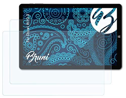 Bruni Schutzfolie kompatibel mit Chuwi Hi10 X Folie, glasklare Bildschirmschutzfolie (2X)