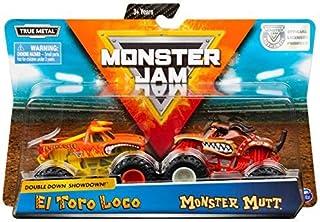 MJ Monster Jam Doubledown Showdown El Toro Loco and Monster Mutt