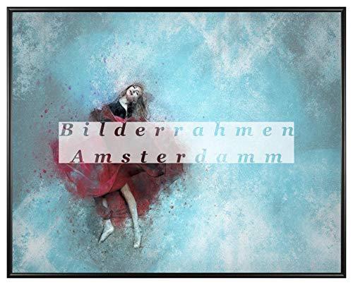 Homedecoration Amsterdam - Cornice portafoto 37,5 x 98 cm, in plastica con vetro sintetico, 1 mm, infrangibile, trasparente