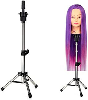 14-21 Inches Long Neverland Beauty Tripod Adjustable Manikin Mannequin Head Holder Hairdressing Training Stand