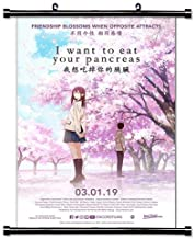 I Want to Eat Your Pancreas Anime Fabric Wall Scroll Poster (32x46) Inches [AMEI] I Want to Eat Your Pancreas-3(L)