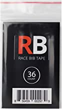 Race Bib Tape Use Instead of Safety Pins, 36 Count