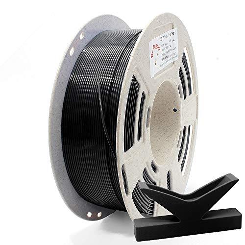 RepRapper 1kg 低反り ABS 3Dプリンターフィラメント 1.75mm ブラック + 印刷ビルド表面 + ノズル洗浄針