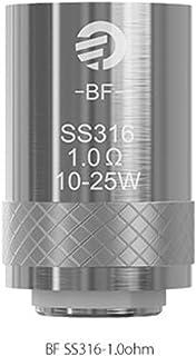 (ジョイテック) Joyetech CUBIS 専用コイル SS クラプトン ノッチ 5個セット 電子タバコ コイル (SS(1.0Ω)/5個セット)