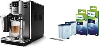 Philips EP5335/10 Machine à café Expresso Super automatique- Séries 5000 LatteGo Inox & Kit d'entretien CA6707/10 Protecti...