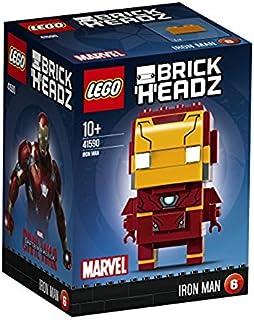 LEGO Brickheadz - Iron Man, Juguete de Construcción